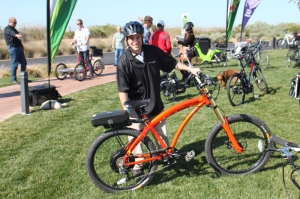 Prodeco showed-off a great selection of their cool E-bikes.