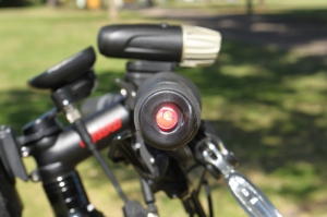 What's more fun than having blinking lights in your handlebars?