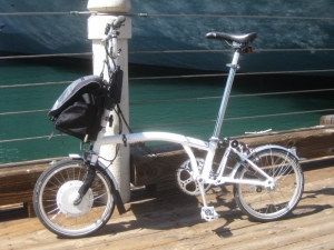 NYCeWheels' E-Brompton is the best of the best when it comes to folding electric bikes.