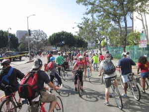 As part of the group at CicLAvia 2102, we had great fun.